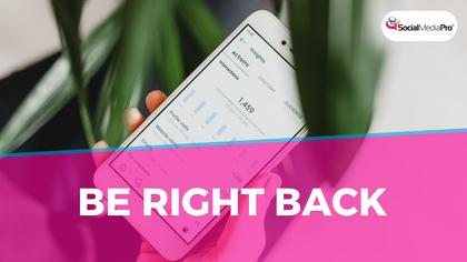Be right back — SMD Summit Theme