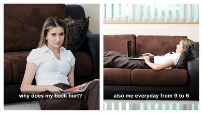 Back Hurts Meme