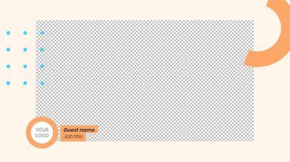 1 Frame Overlay — Geometric Theme