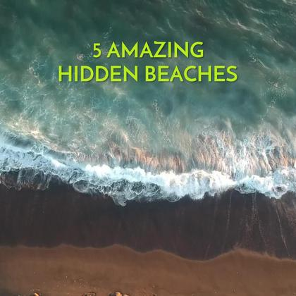 5 Hidden Beaches
