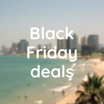 Black Friday Deals. Travel