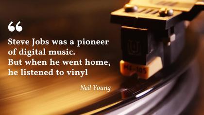 Vinyl Quote