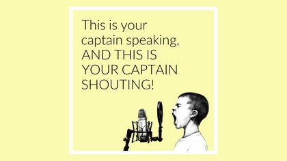 Captain Speaking Meme