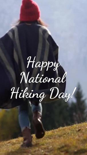 National Hiking Day November 17