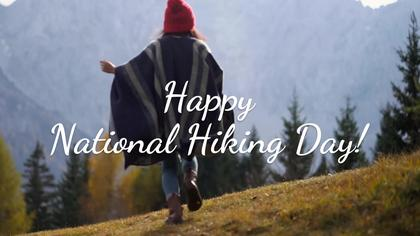 National Hiking Day November 17