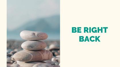 Be Right Back — Spiritual Theme