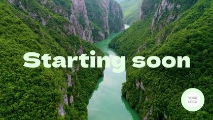 Starting Soon — Nature Theme