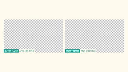 2 Frames Overlay — Spiritual Theme