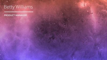 Galaxy Virtual Background