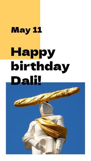 Dali's Birthday Quote