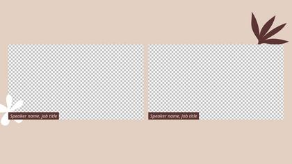 2 Frames Overlay — Coffee Theme