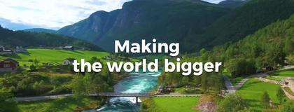 Make the World Bigger by Travelling