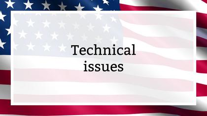 Tech Issues — US Flag Theme