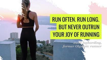 Running - Inspirational Quote