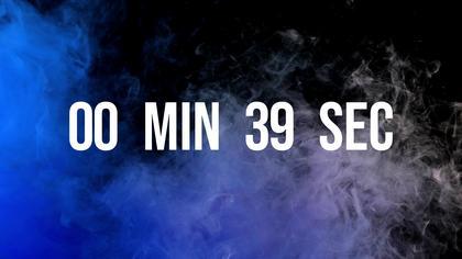 Countdown — Neon Smoke Theme