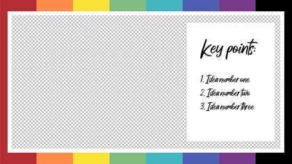 Key Points — Color Bars Theme