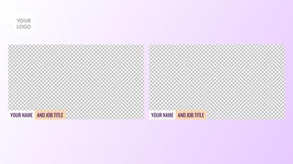 2 Frames Overlay — Yogurt Theme