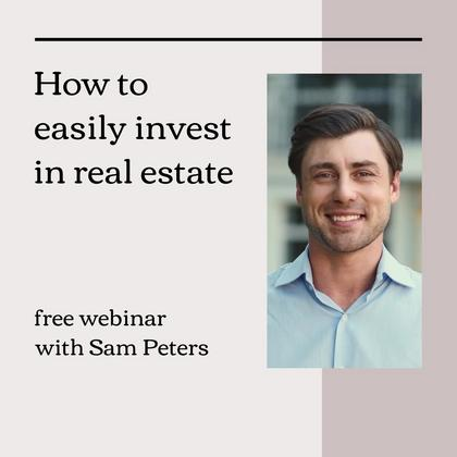 Real Estate Webinar Invitation