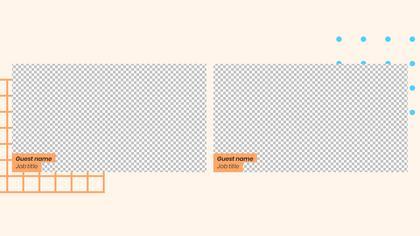 2 Frames Overlay — Geometric Theme