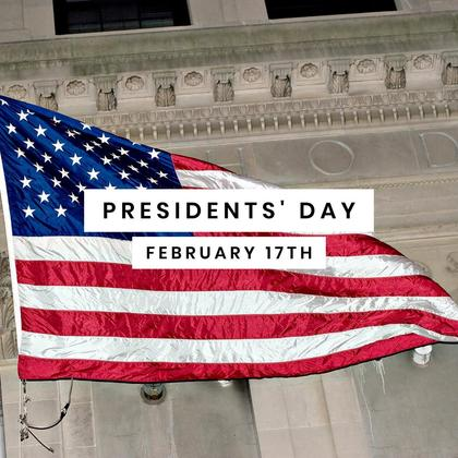 Presidents' Day Special Offer