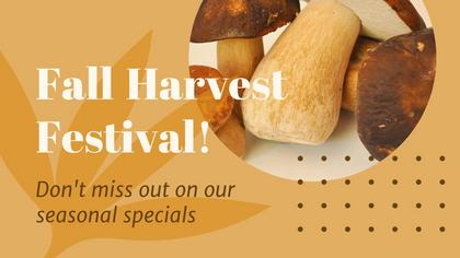 Fall Harvest Week