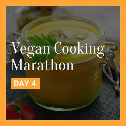 Vegan Cooking Marathon