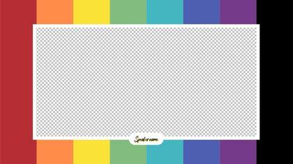 1 Frame Overlay — Color Bars Theme