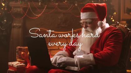 Santa eCard