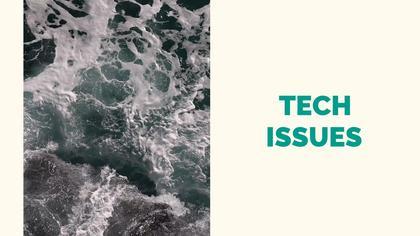 Tech Issues — Spiritual Theme