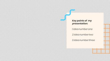 Key Takeaways — Geometric Theme