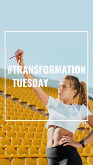 #TransformationTuesday