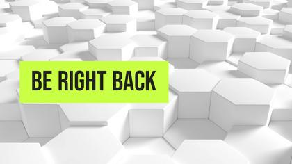 Be Right Back Screen — Honeycomb Theme