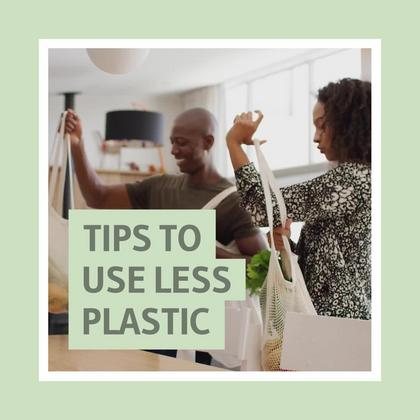 Tips to Use Less Plastic