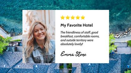Hotel Testimonial