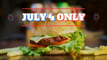 Special Offer for 4th of July