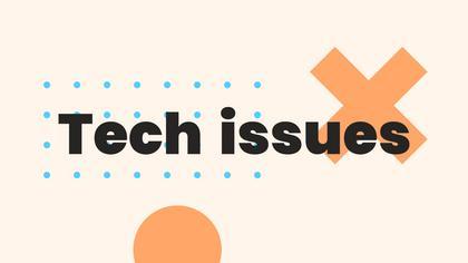 Tech Issues — Geometric Theme