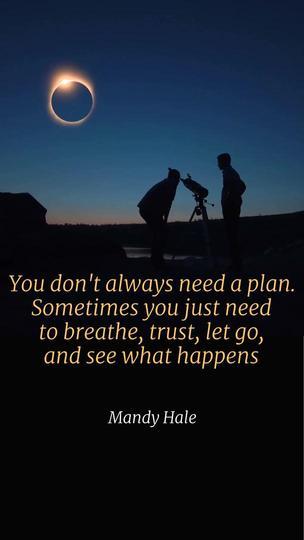 Let Go - Motivational Quote