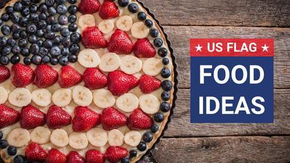US Flag Food Ideas