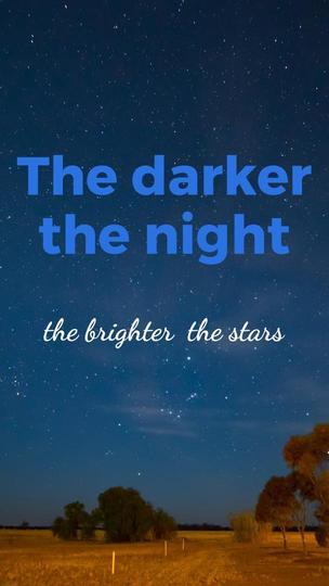 Stars - Inspirational Quote