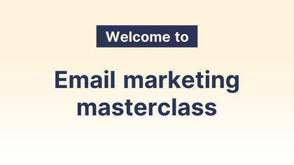 Masterclass Introduction