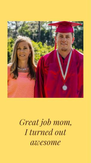 Great Job, Mom