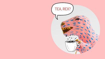 TeaRex Virtual Background