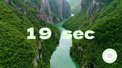 Countdown — Nature Theme