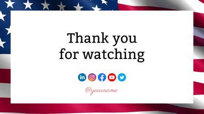 Outro — US Flag Theme