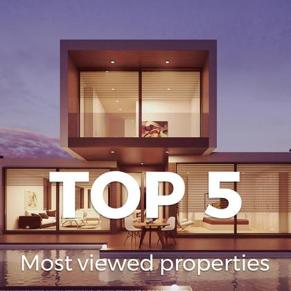 Top 5 Most Viewed Properties